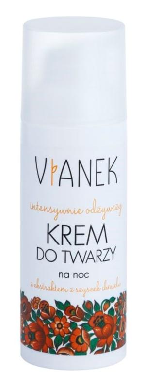 Vianek Nutritious crema de noche intensa con efecto nutritivo