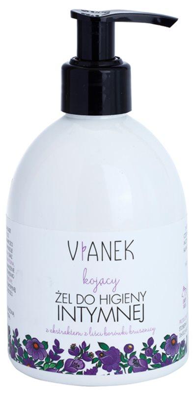 Vianek Soothing gel na intimní hygienu pro každodenní použití