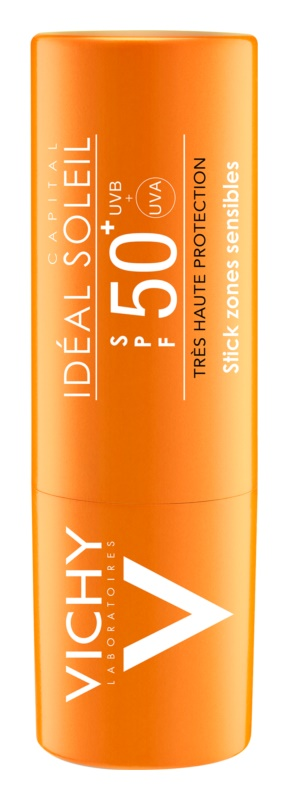 Vichy Idéal Soleil Capital paličica za zaščito občutljivih predelov in ustnic SPF 50+