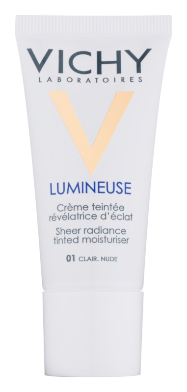 Vichy Lumineuse posvetlitvena tonirana krema za suho kožo