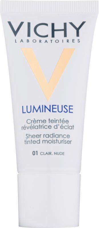 Vichy Lumineuse роз'яснюючий тонуючий крем для сухої шкіри