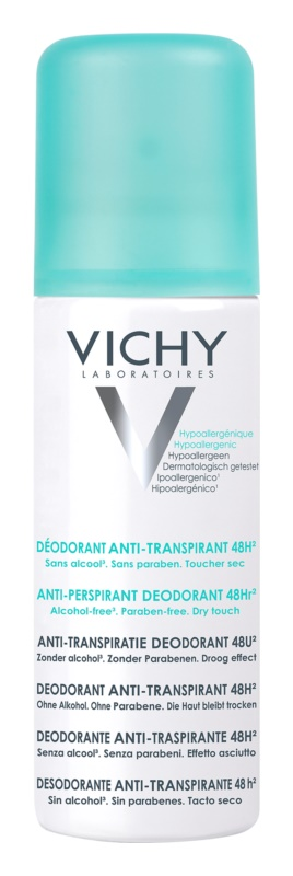 Vichy Deodorant deodorant ve spreji proti nadměrnému pocení