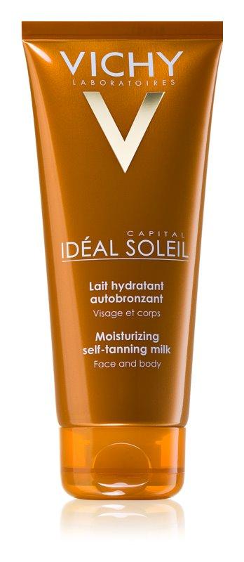 Vichy Idéal Soleil Capital hidratáló önbarnító krém arcra és testre