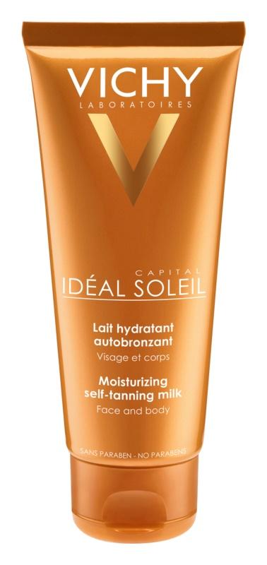 Vichy Idéal Soleil Capital feuchtigkeitsspendende Selbstbräunermilch Für Gesicht und Körper