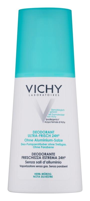 Vichy Deodorant osvežilni dezodorant v pršilu za občutljivo kožo