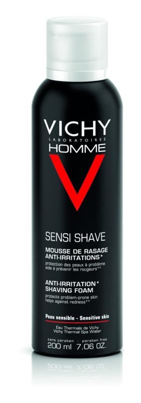 Vichy Homme Anti-Irritation Scheerschuim  voor Gevoelige en Geirriteerde Huid