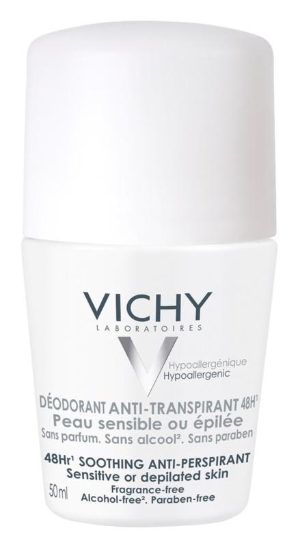 Vichy Deodorant дезодорант кульковий для чутливої та подразненої шкіри