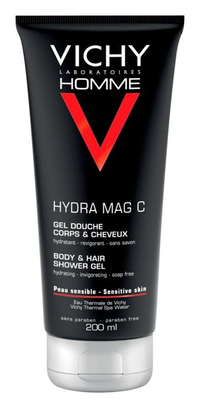 Vichy Homme Hydra-Mag C tusfürdő gél testre és hajra
