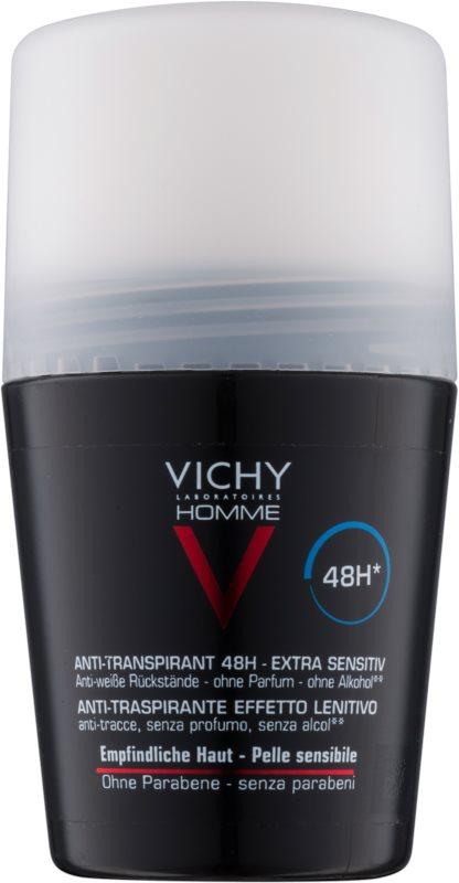 Vichy Homme Deodorant antiperspirant roll-on bez parfemace