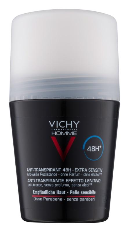 Vichy Homme Deodorant antiperspirant roll-on brez dišav