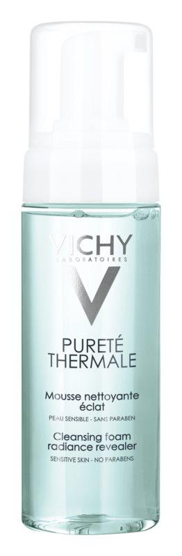 Vichy Pureté Thermale tisztító hab az élénk bőrért