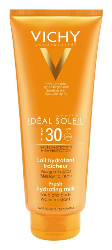 Vichy Idéal Soleil Capital leite protetor para rosto e corpo SPF 30