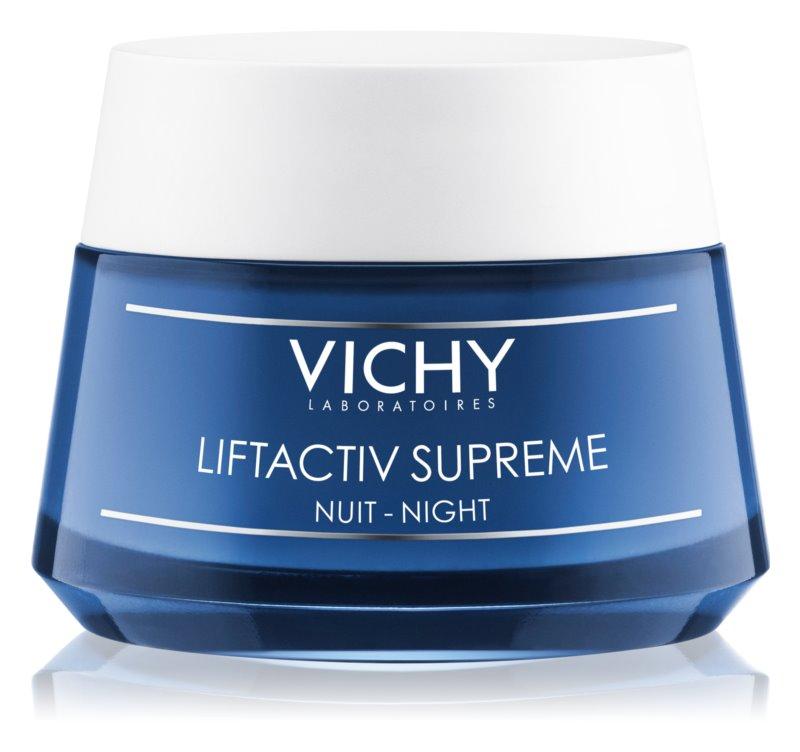 Vichy Liftactiv Supreme creme de noite fortificante e antirrugas com efeito lifting