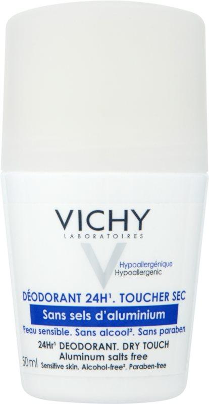 Vichy Deodorant Roll-On Deodorant  For Sensitive Skin