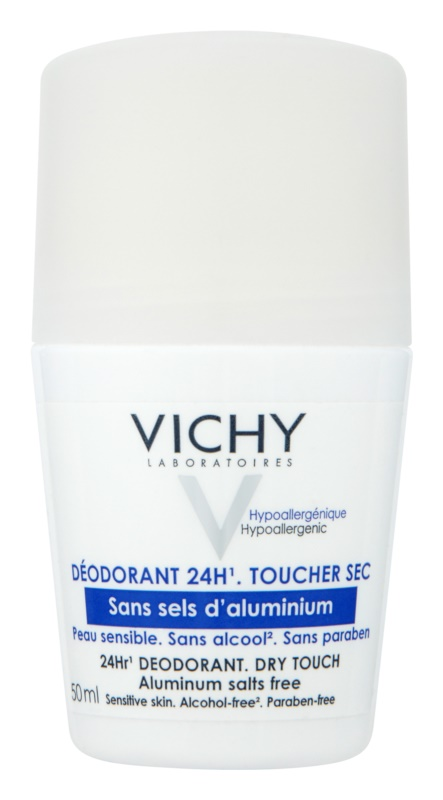 Vichy Deodorant Roll-On Deodorant für empfindliche Oberhaut