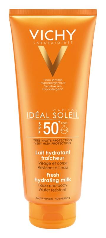 Vichy Idéal Soleil Capital lapte de protectie pentru fata si corp SPF 50+