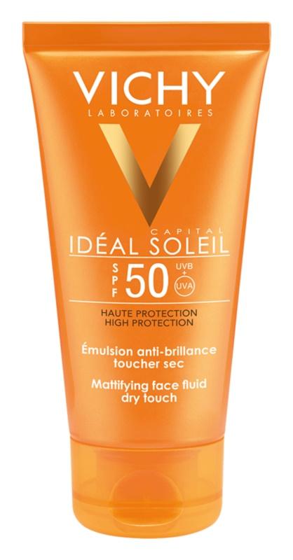 Vichy Capital Soleil fluido facial protetor matificante SPF50
