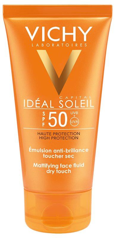 Vichy Capital Soleil ochranný zmatňujúci fluid na tvár SPF 50