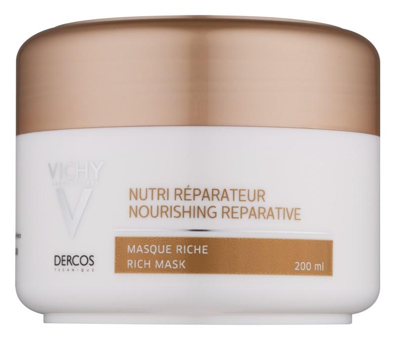 Vichy Dercos Nutri Reparateur hranilna maska za suhe in poškodovane lase