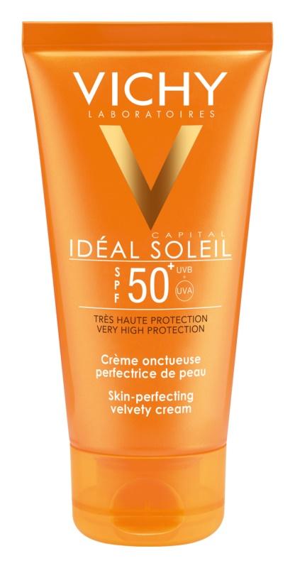 Vichy Idéal Soleil Capital ochranný krém pro sametově jemnou pleť SPF 50+