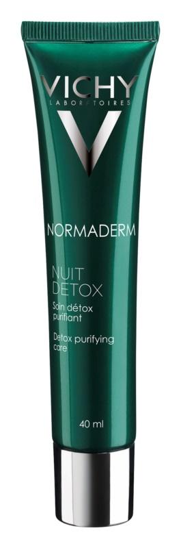Vichy Normaderm Detox-Pflege für die Nacht für Haut mit kleinen Makeln