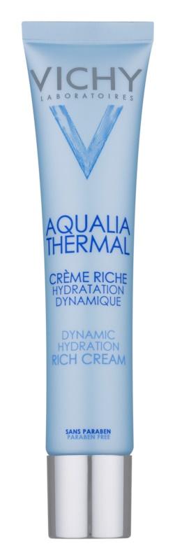 Vichy Aqualia Thermal Rich crema de día hidratante nutritiva para pieles secas y muy secas