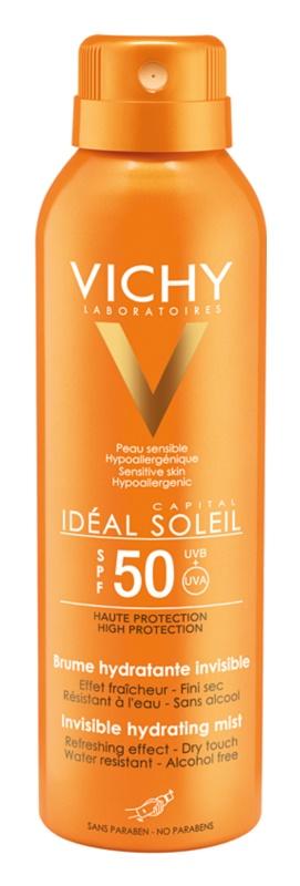 Vichy Capital Soleil neviditeľný hydratačný sprej SPF 50