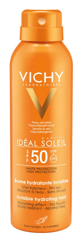 Vichy Capital Soleil Onzichtbare Hydraterende Spray  SPF50