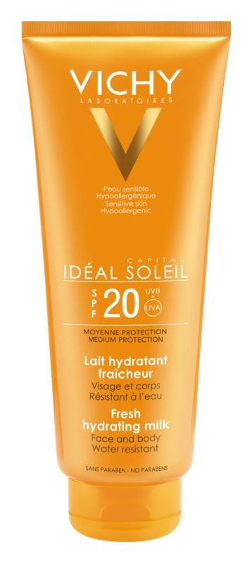 Vichy Idéal Soleil zaščitni vlažilni losjon za obraz in telo SPF 20