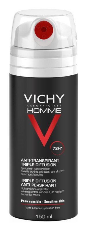 Vichy Homme Deodorant spray anti-perspirant 72 ore