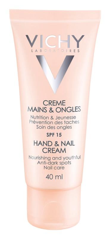 Vichy Hand & Nail nährende Creme für Hände und Fingernägel gegen den dunklen Flecken