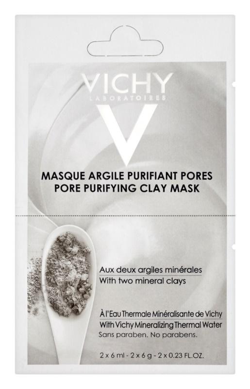 Vichy Mineral Masks reinigende Gesichtsmaske mit Tonmineralien kleine Packung