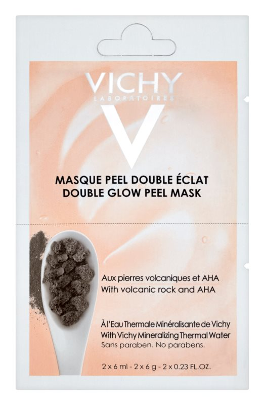 Vichy Mineral Masks Brightening Peel Face Mask Small Pack