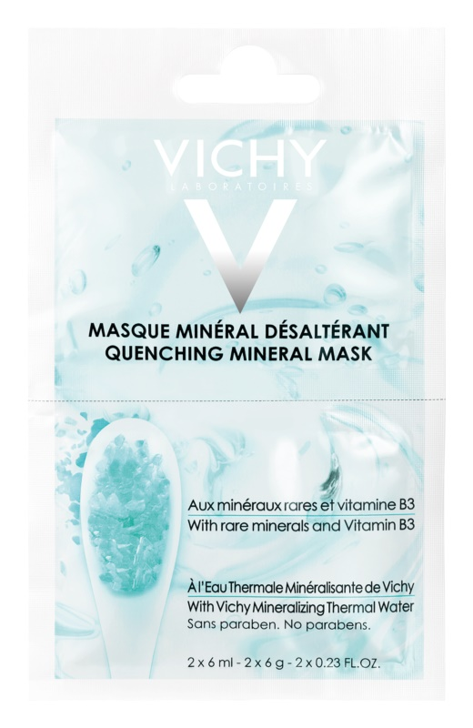 Vichy Mineral Masks Hydrating Face Mask Small Pack