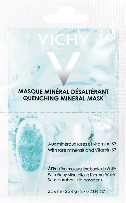 Vichy Mineral Masks masque visage hydratant petit format