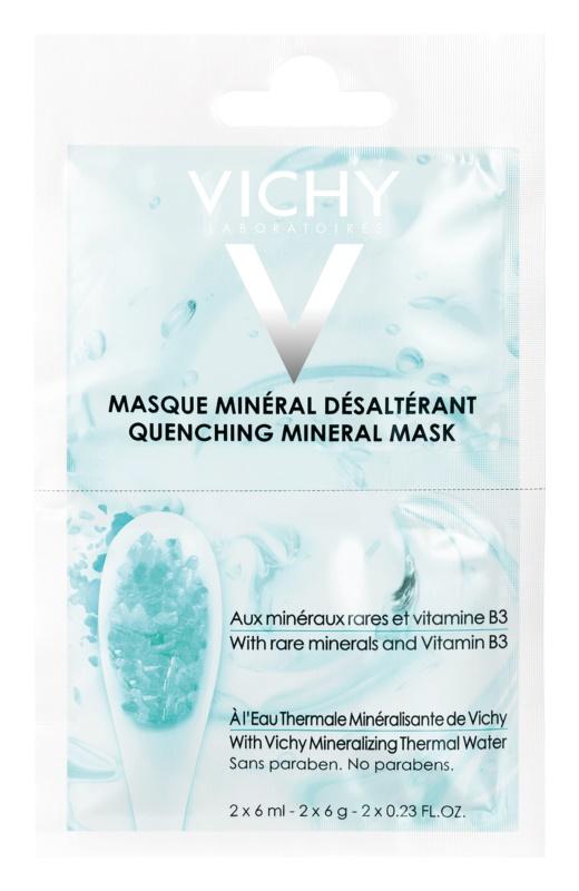 Vichy Mineral Masks vlažilna maska za obraz majhno pakiranje