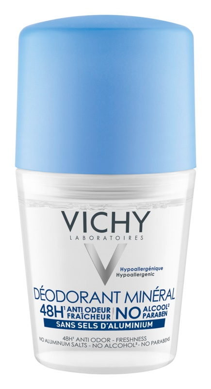 Vichy Deodorant deodorant roll-on cu particule de minerale 48 de ore