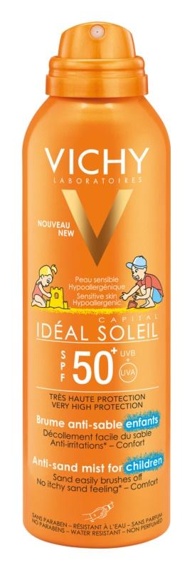 Vichy Idéal Soleil Capital sanftes sandabweisendes Schutzspray für Kinder SPF 50+