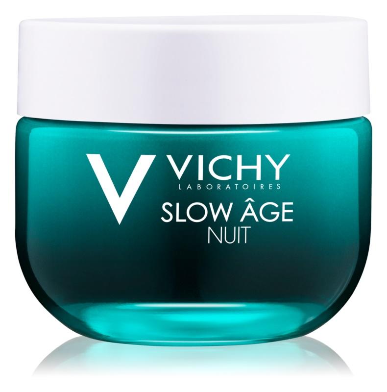 Vichy Slow Âge Erneuernde und Sauerstoff spendende Nachtpflege