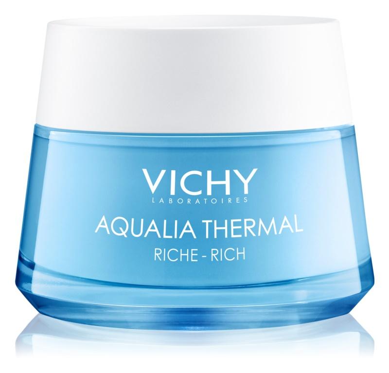 Vichy Aqualia Thermal Rich creme hidratante nutritivo para pele seca a muito seca