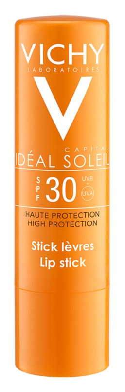 Vichy Idéal Soleil Capital Bescherming Stick voor Lippen en Gevoelige Plekjes  SPF 30