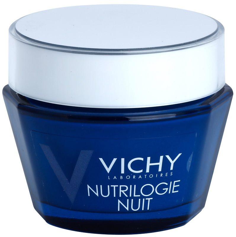 Vichy Nutrilogie, intensywny krem na noc do skóry suchej i..
