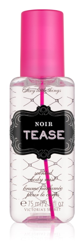 Victoria's Secret Sexy Little Things Noir Tease Body Spray for Women 75 ml
