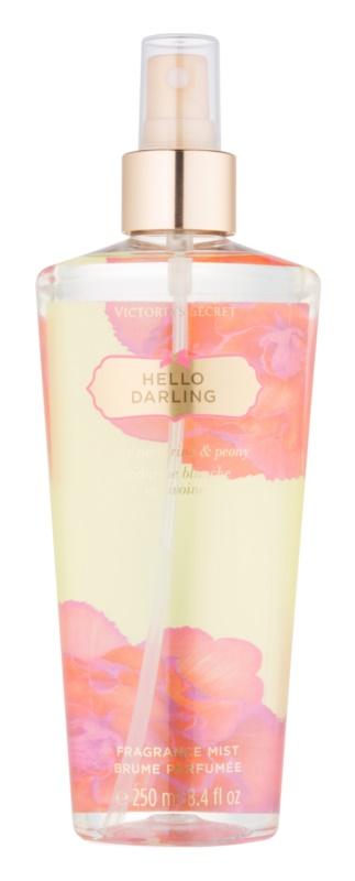 Victoria's Secret Hello Darling spray pentru corp pentru femei 250 ml
