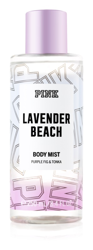 Victoria's Secret PINK Lavender Beach tělový sprej pro ženy 250 ml