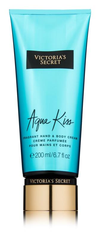 Victoria's Secret Aqua Kiss crema corporal para mujer 200 ml