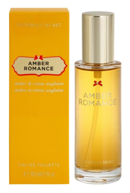 Victoria's Secret Amber Romance Amber & Créme Anglaise  eau de toilette pentru femei 30 ml