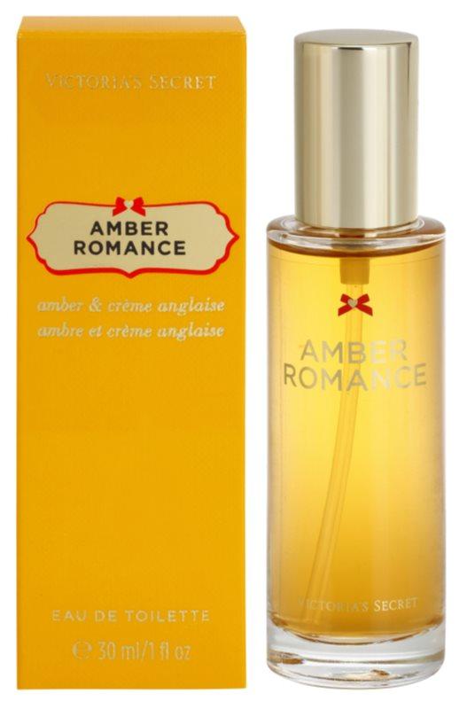 Victoria's Secret Amber Romance Amber & Créme Anglaise eau de toilette pour femme 30 ml