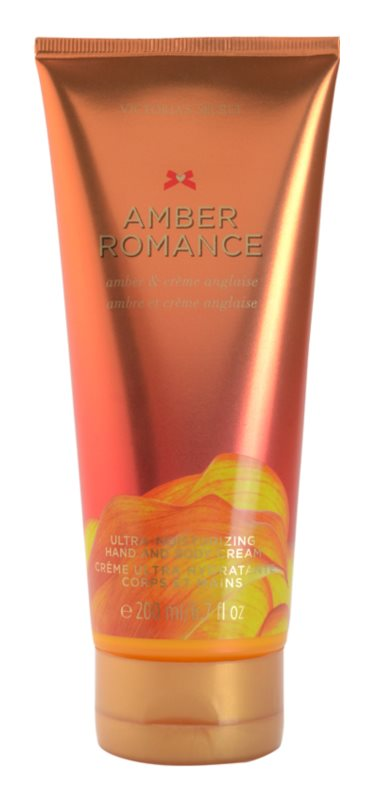 Victoria's Secret Amber Romance Amber & Créme Anglaise  Bodycrème voor Vrouwen  200 ml