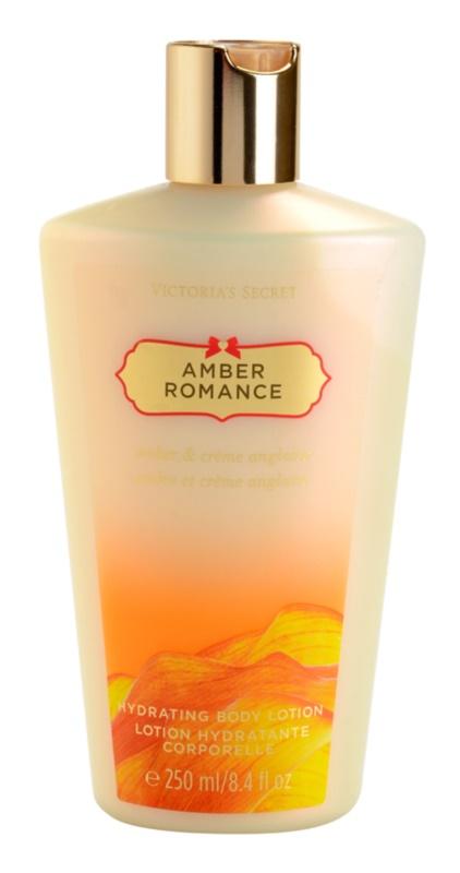 Victoria's Secret Amber Romance Amber & Créme Anglaise Körperlotion für Damen 250 ml